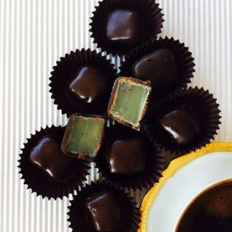 Çikolatalı Nane Limonlu Lokum